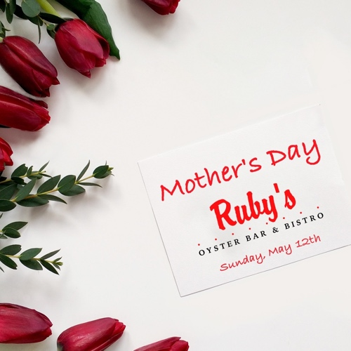 Rubys Oyster Bar Mother's Day