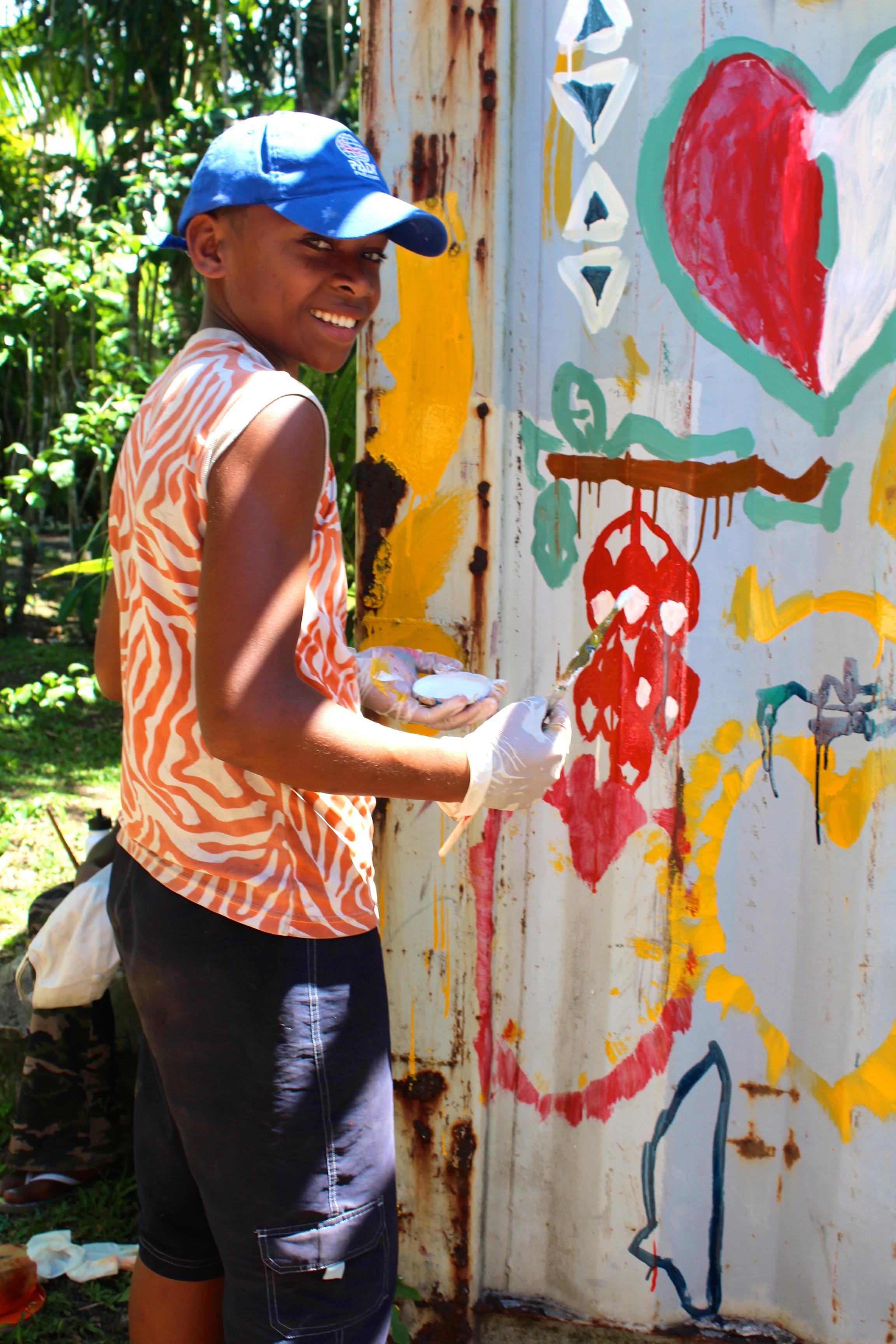 Painting Tagimoucias