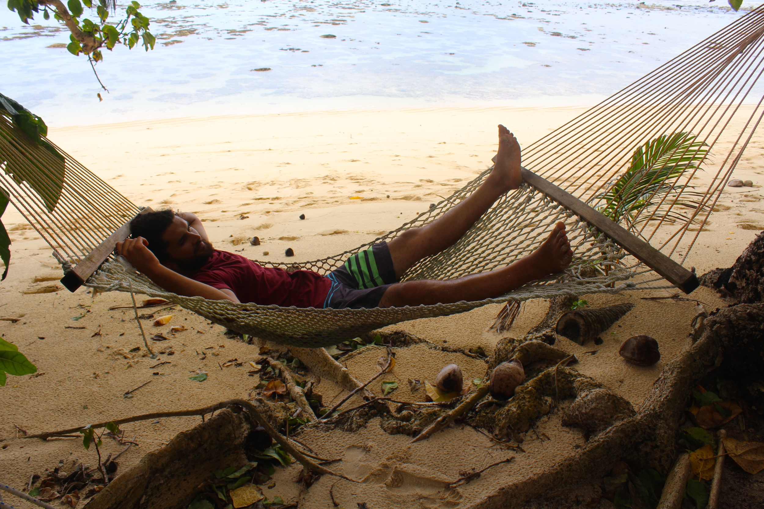 Loving the hammock