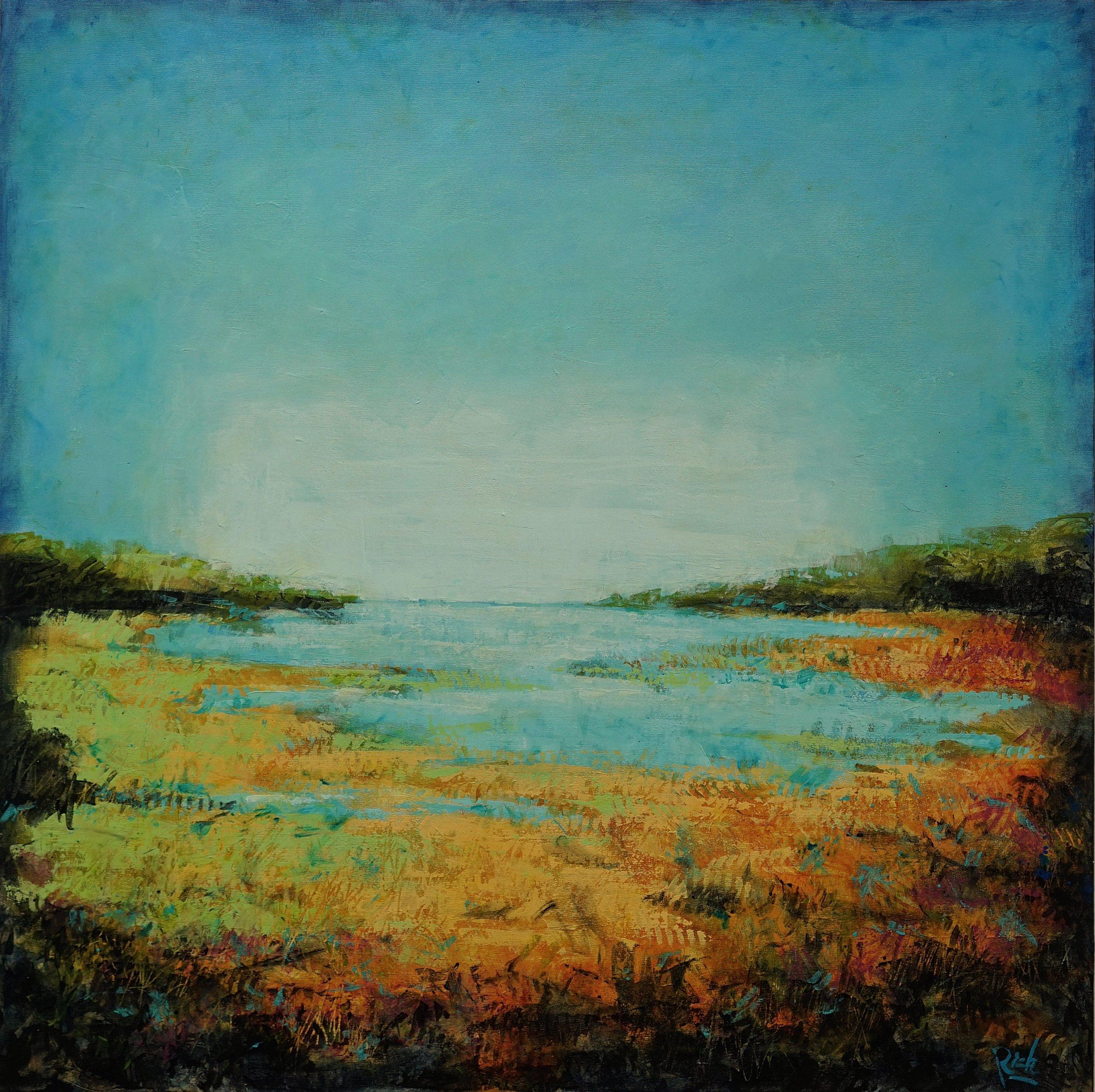 Acrylic on canvas 42x42