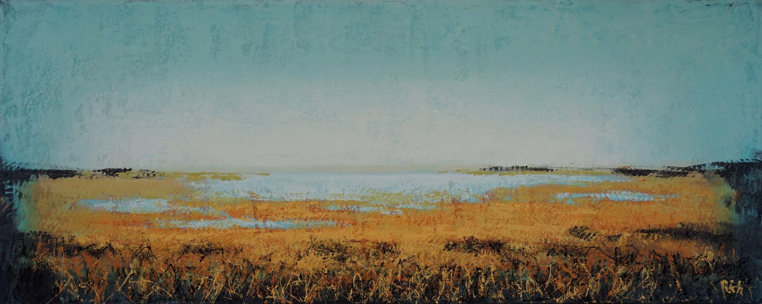 Acrylic on canvas 48x20