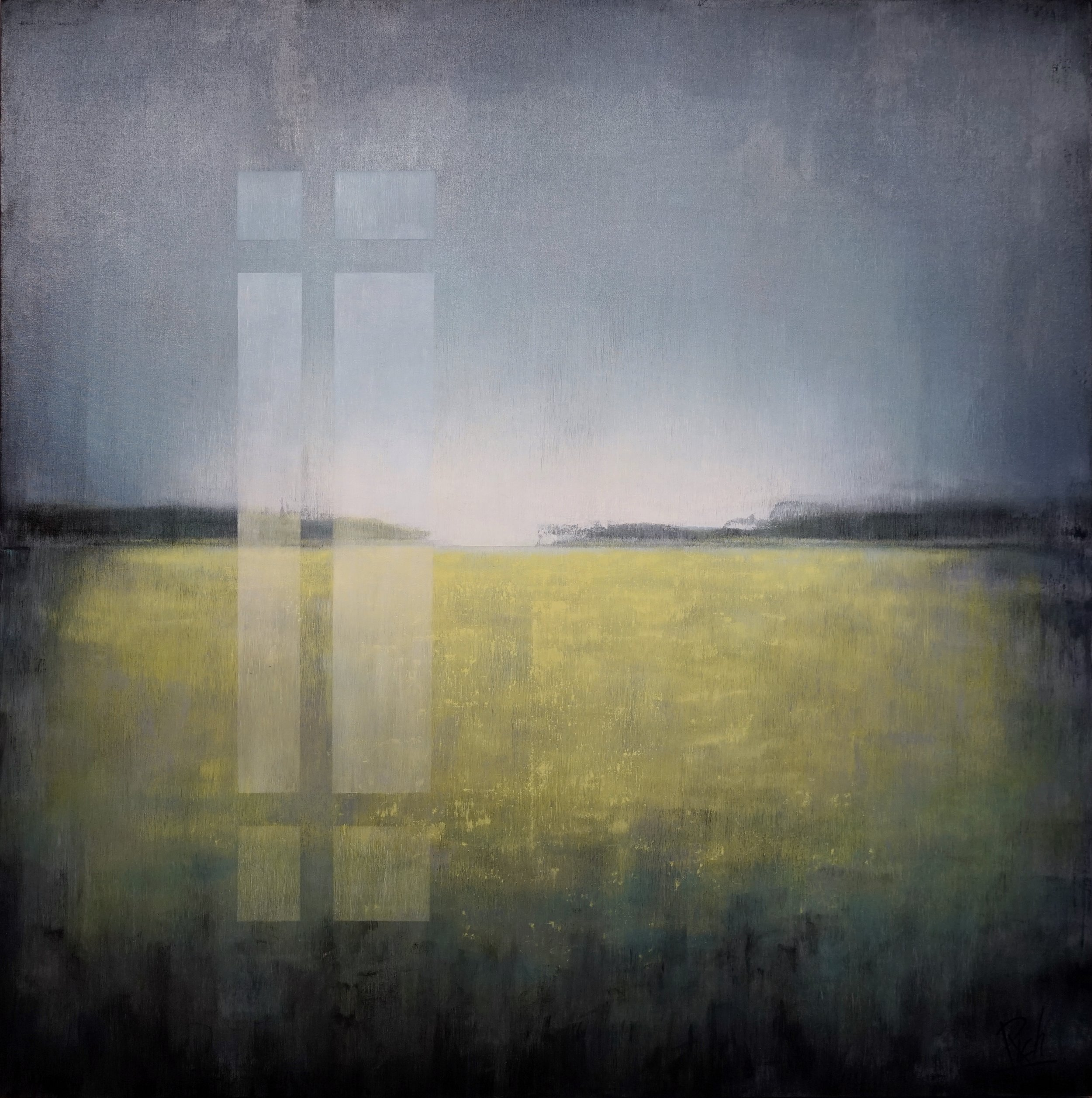 Field  Acrylic on canvas 48x48