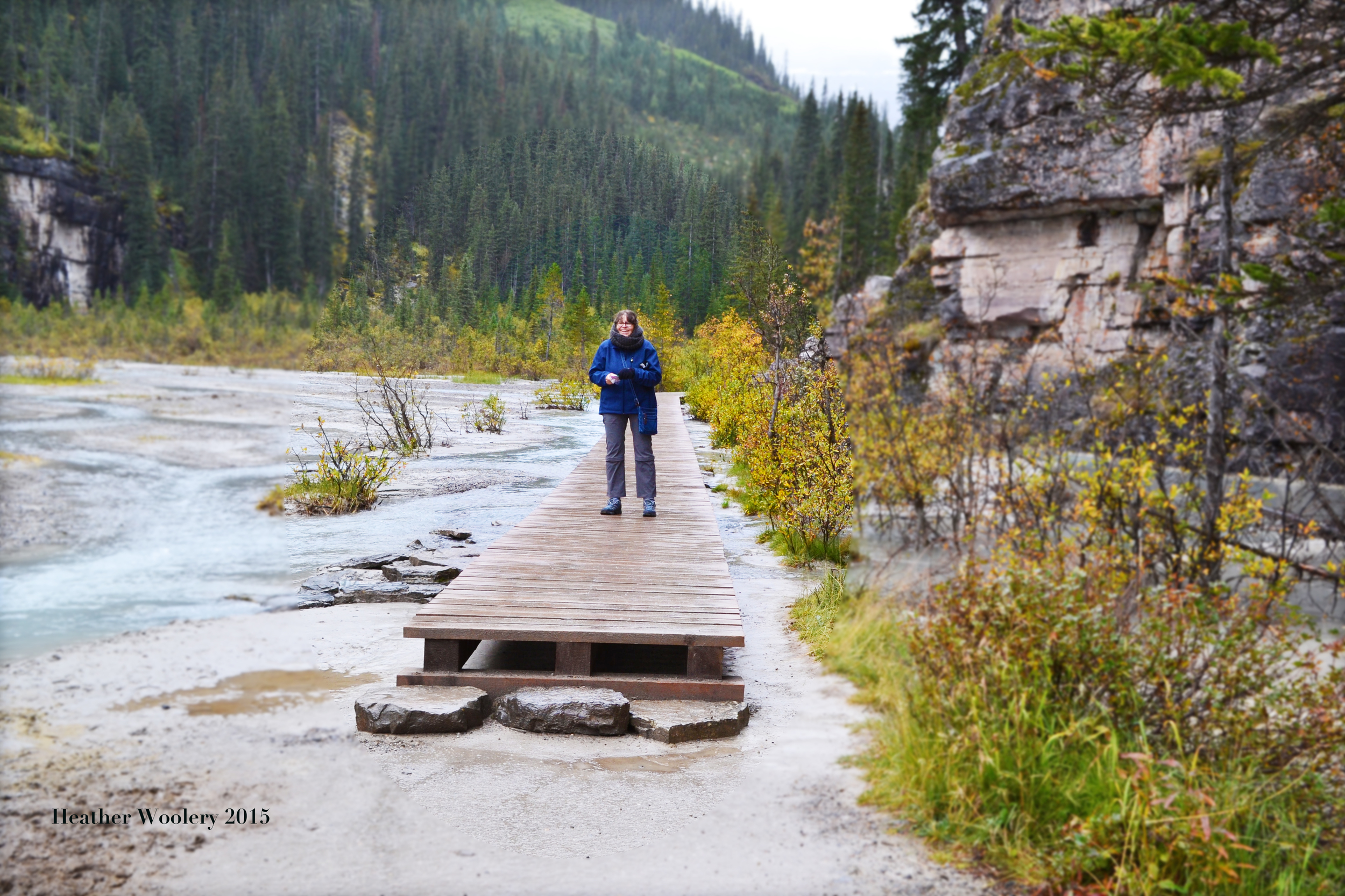 The Plain of Six Glaciers - Banff national Park - Alberta Canada