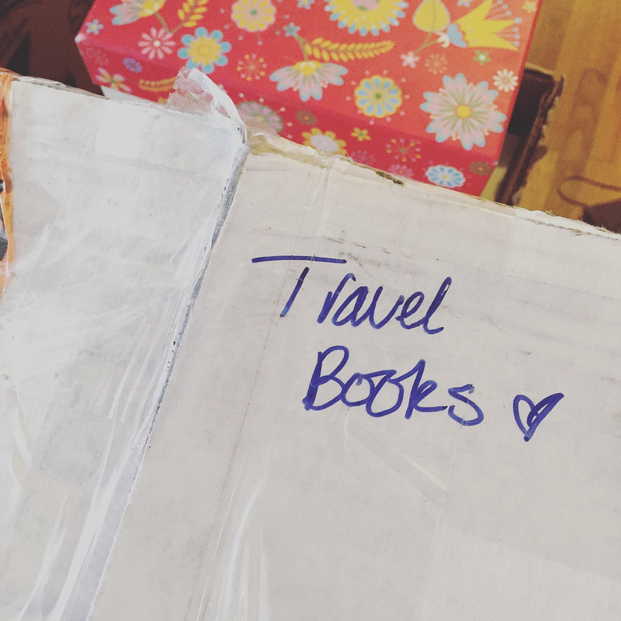 Packing up my favorite kind of books!  All Rights Reserved| Heather Woolery 2015
