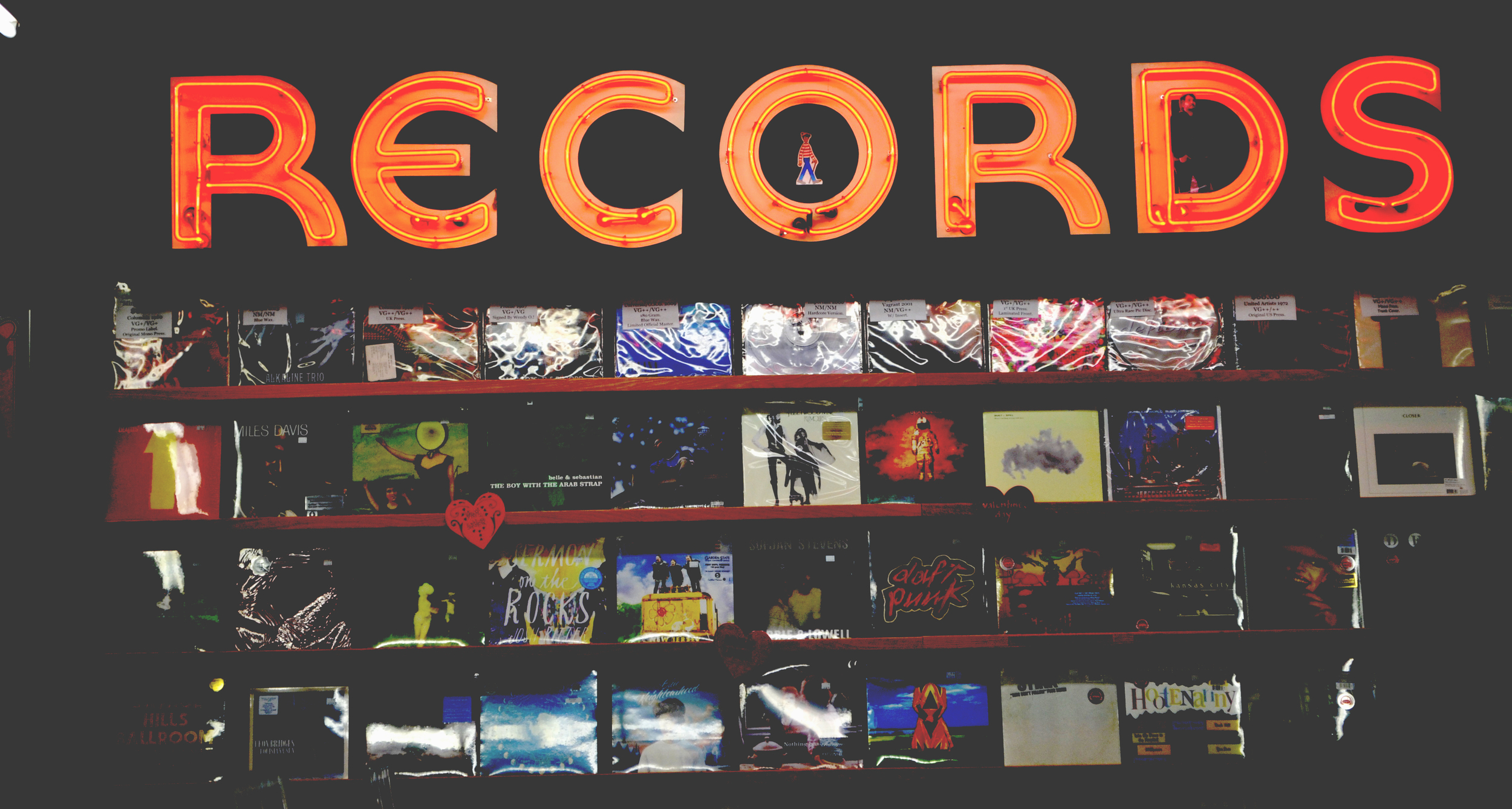 The Record Exchange | Boise, Idaho | All Rights Reserved: Heather Woolery 2016