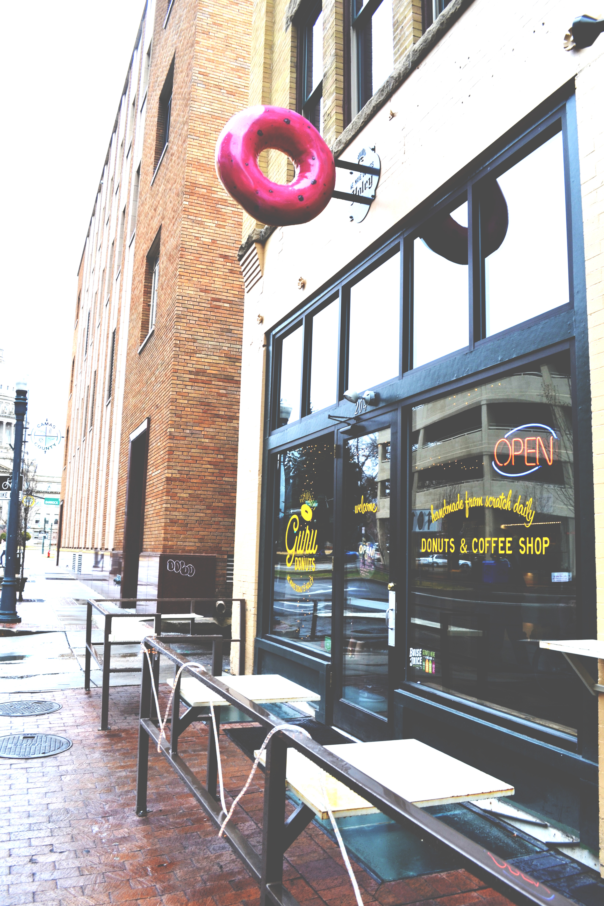 Guru Donuts  | Boise, ID | 204 N. Capital Blvd. | All Rights Reserved: Heather Woolery 2016