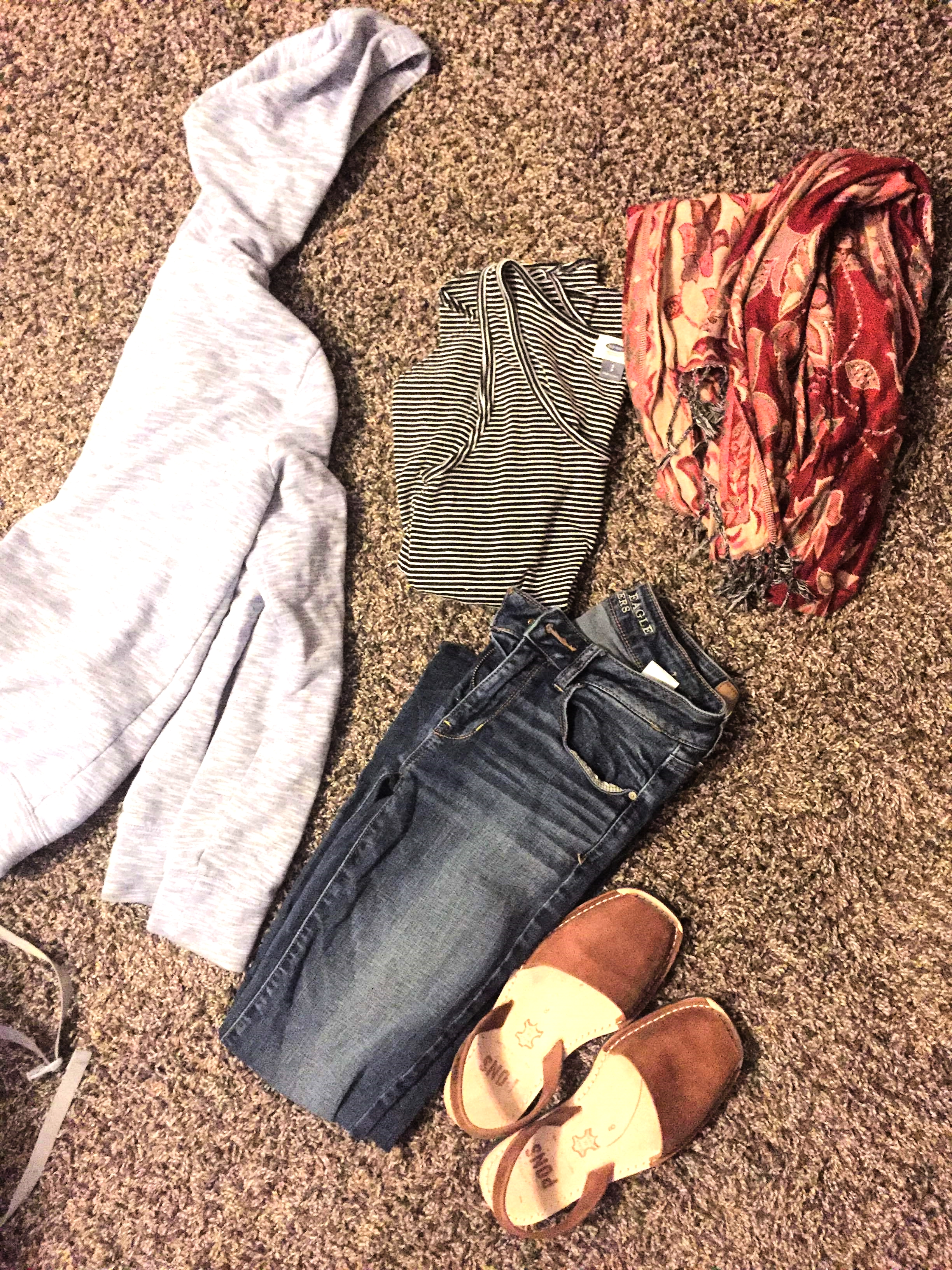 Airport Outfit | All Rights Reserved: Heather Woolery 2016