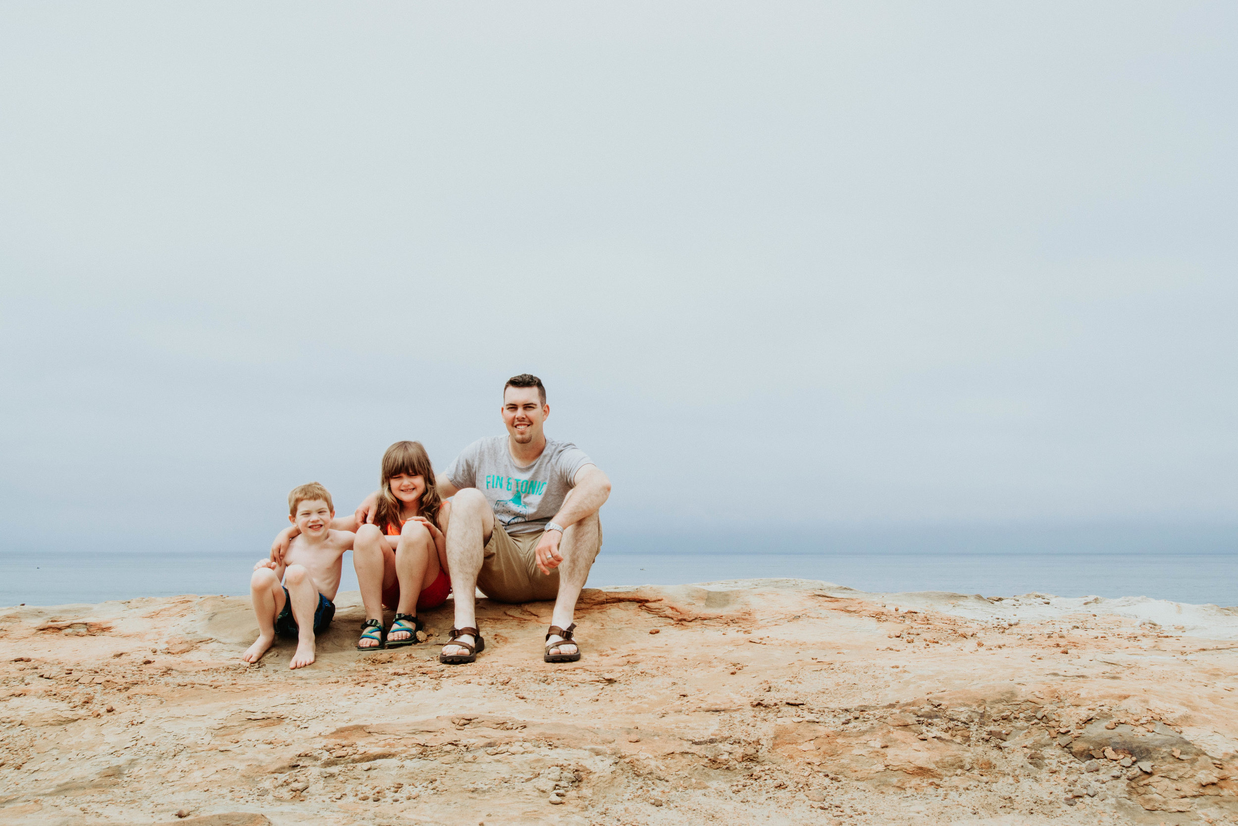 Heather Woolery | Cape Kiwanda 2017 | Family Shot