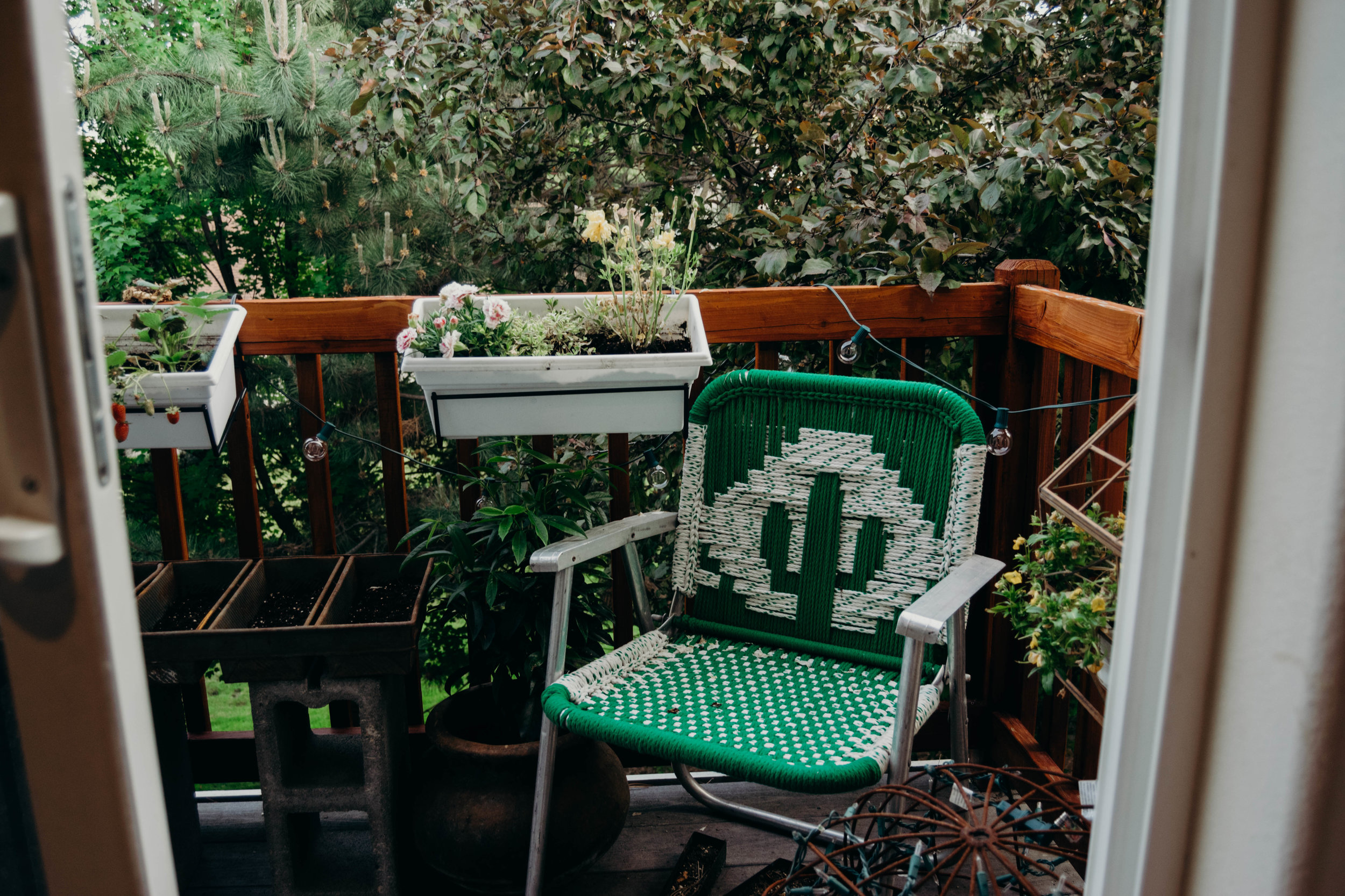 my little piece of heaven on my patio | Heather Woolery '17