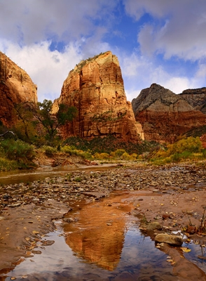 Angel's Landing Reflection