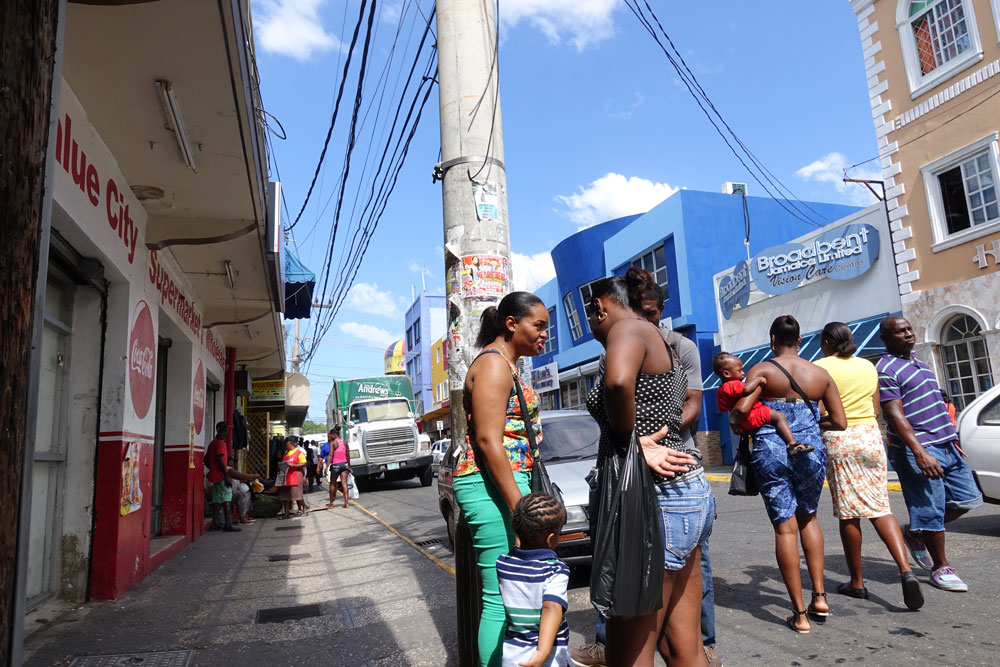 The Mobay streets downtown