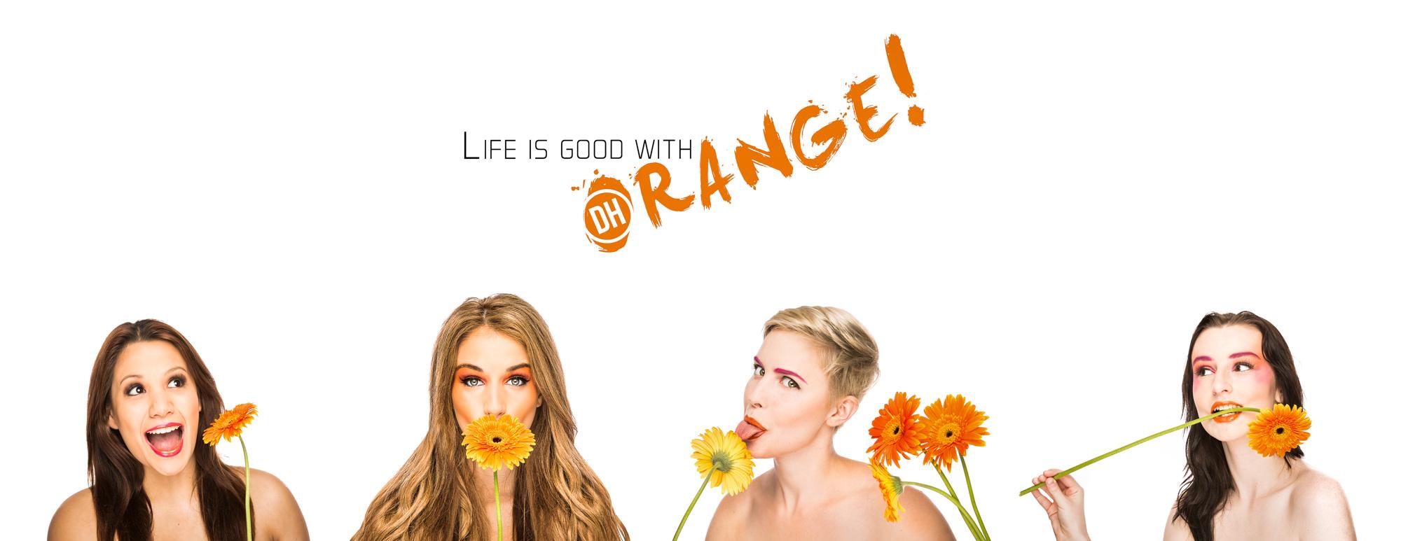 """Composite from the """"Orange"""" portfolio series"""