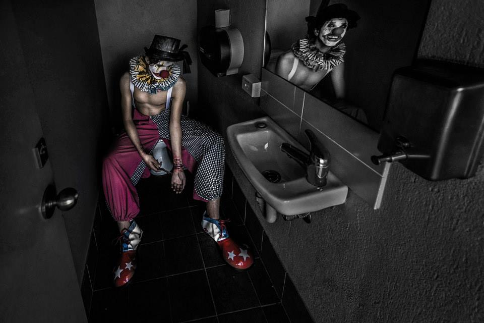 """Suicide Clown Reflections"" - 2015 APPA Silver Award"