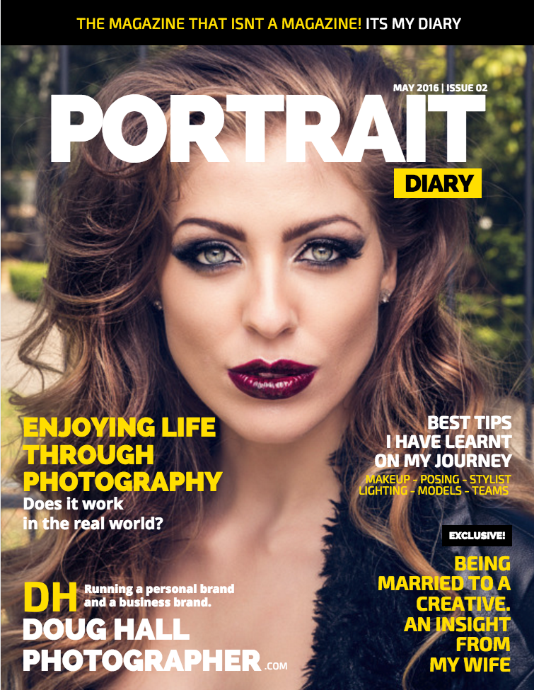 Cover image from Portrait Diary Issue 2