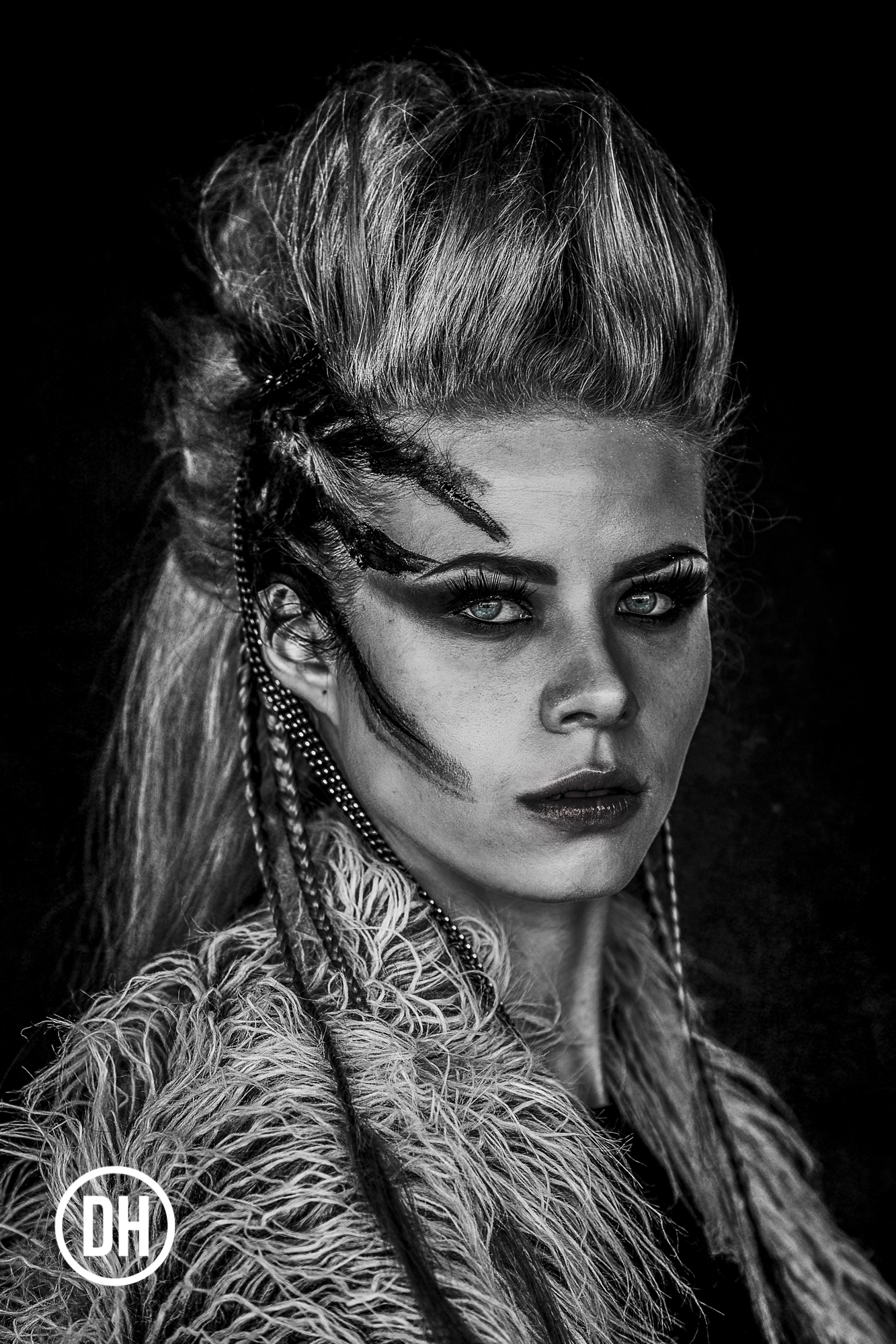"Image from the ""Gunhild"" series  HMUA: Marie Timbrell Donnell  Model: Raluca Plohberger (Victoria's Models)"