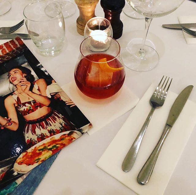 Negroni time?? We definitely think so!! #pizza #handmade #bentleigh #melbourne #bestpizzamelbourne #artisan #withpassion #woodfiredpizzamelbourne #weliveforpizza #melbourneiloveyou #melbournefoodie #fire #melbournedinner #igmelbourne #foodie #food #italiansdoitbetter #liveinitalian #australia