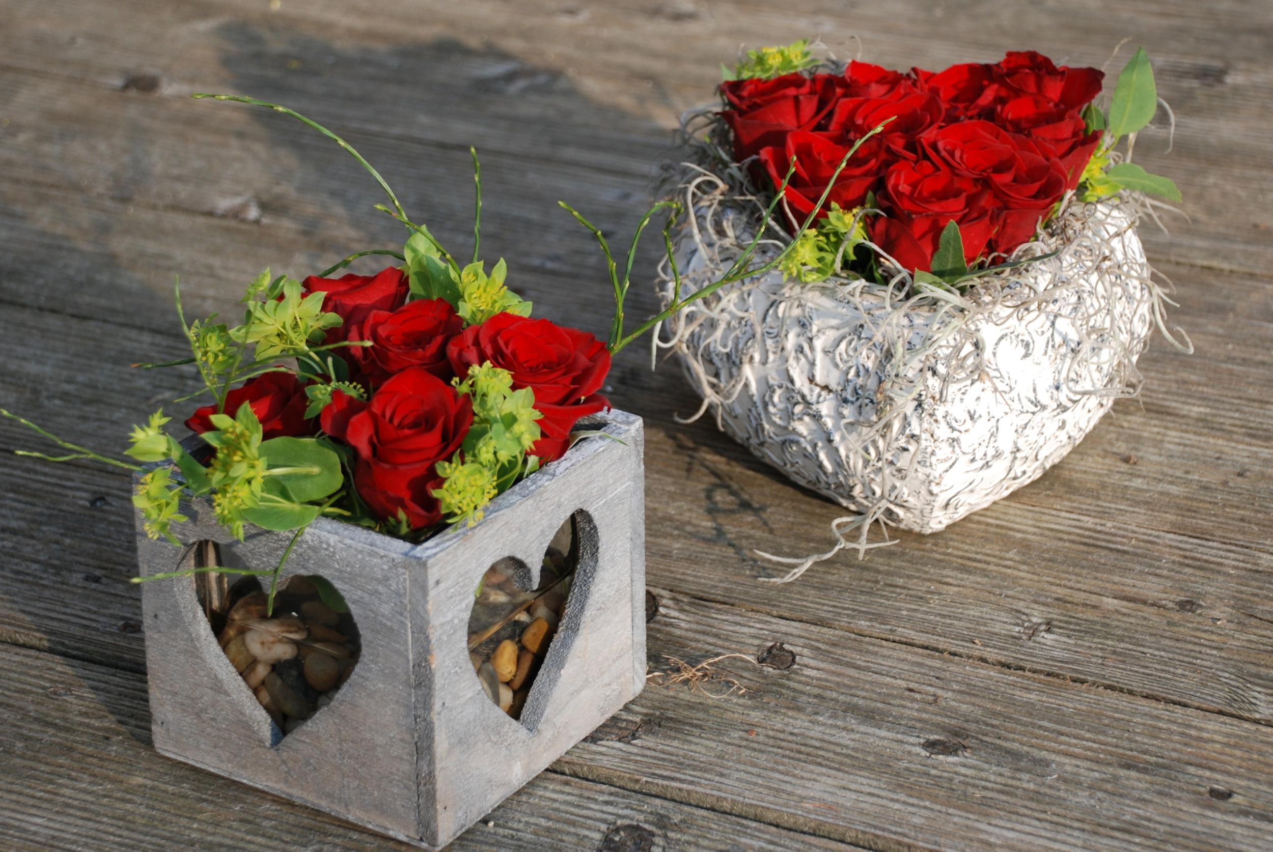 Rosen für den Schatz.