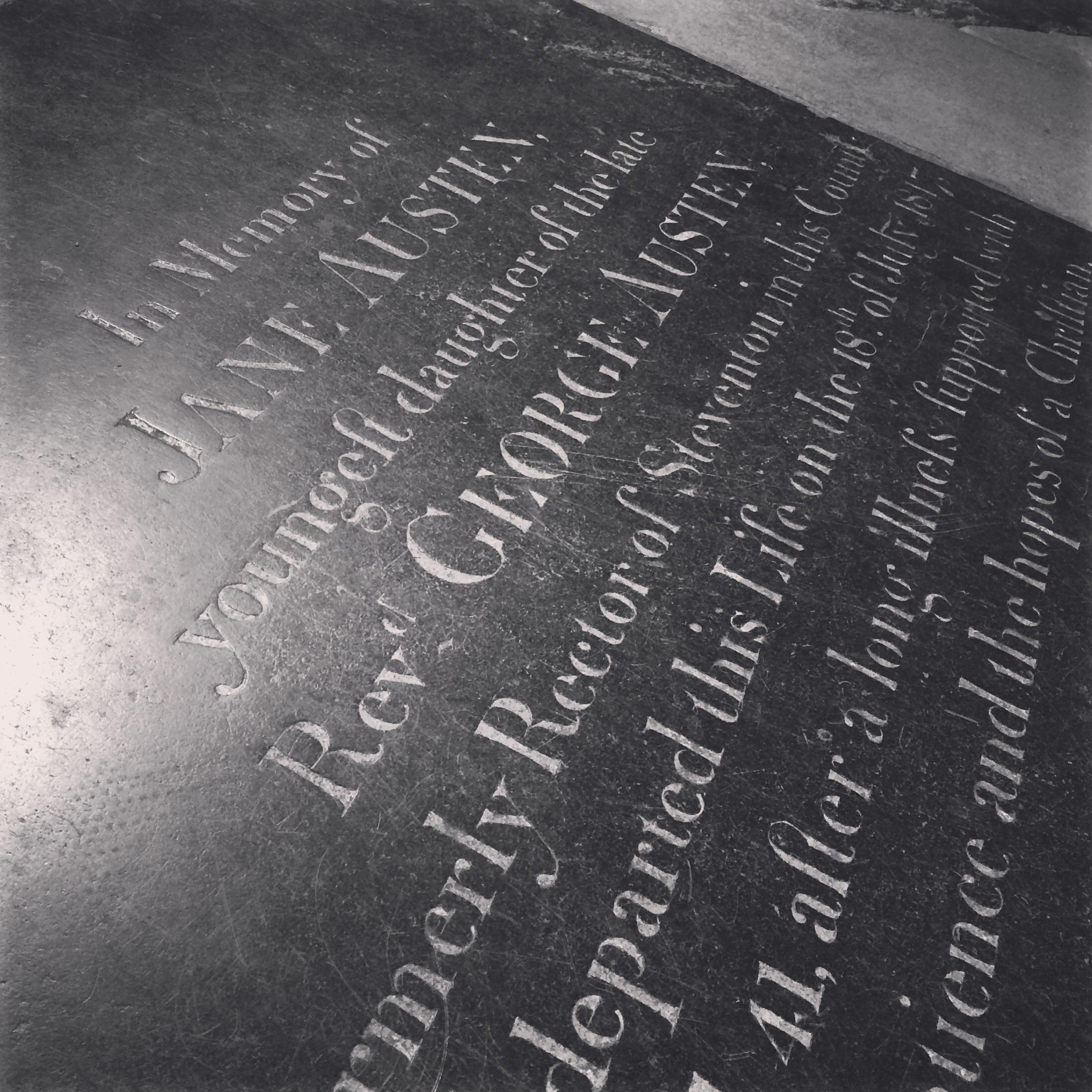 Jane Austen's Grave.JPG