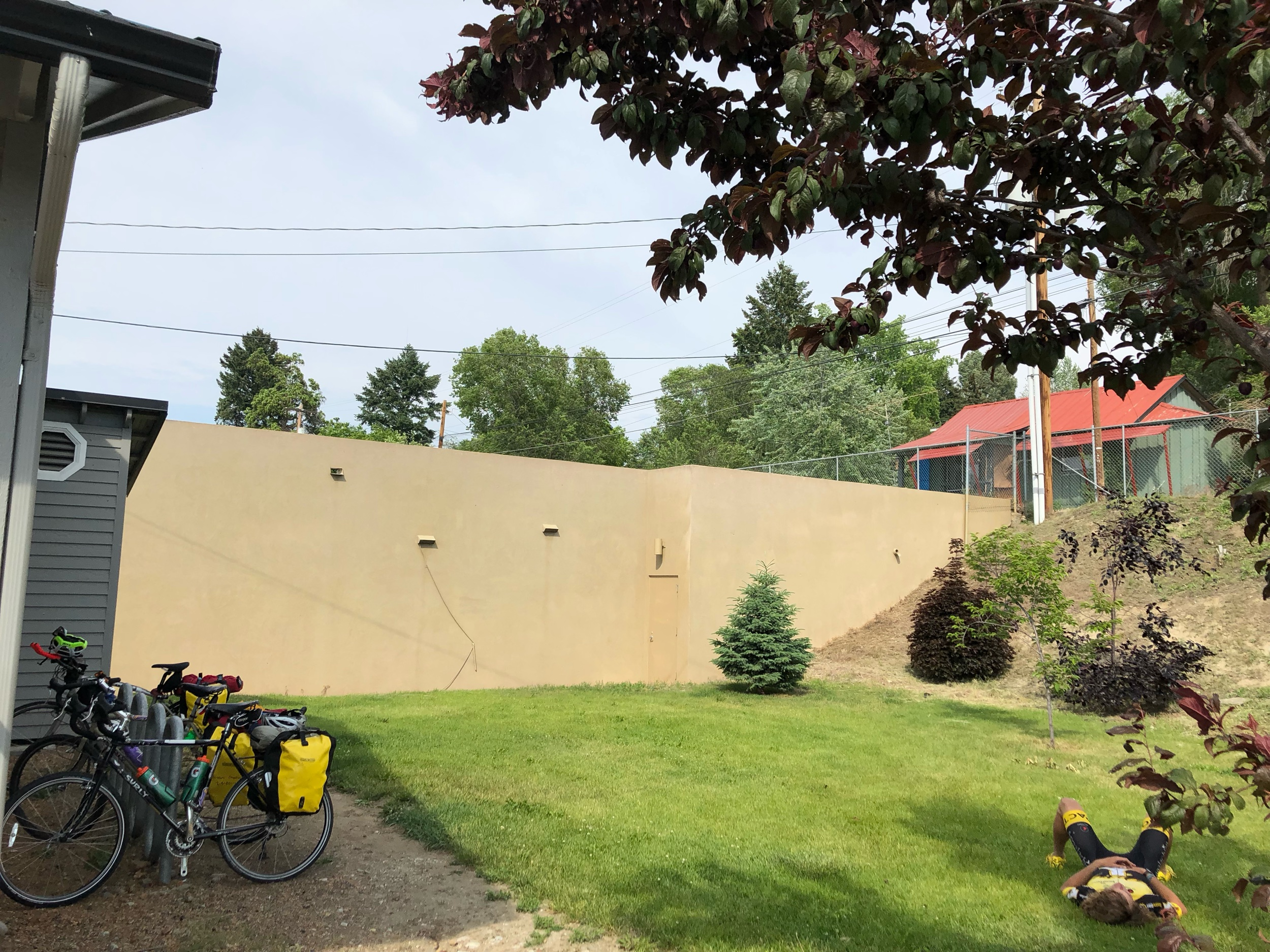 Bikers-only campground in Tonasket, WA