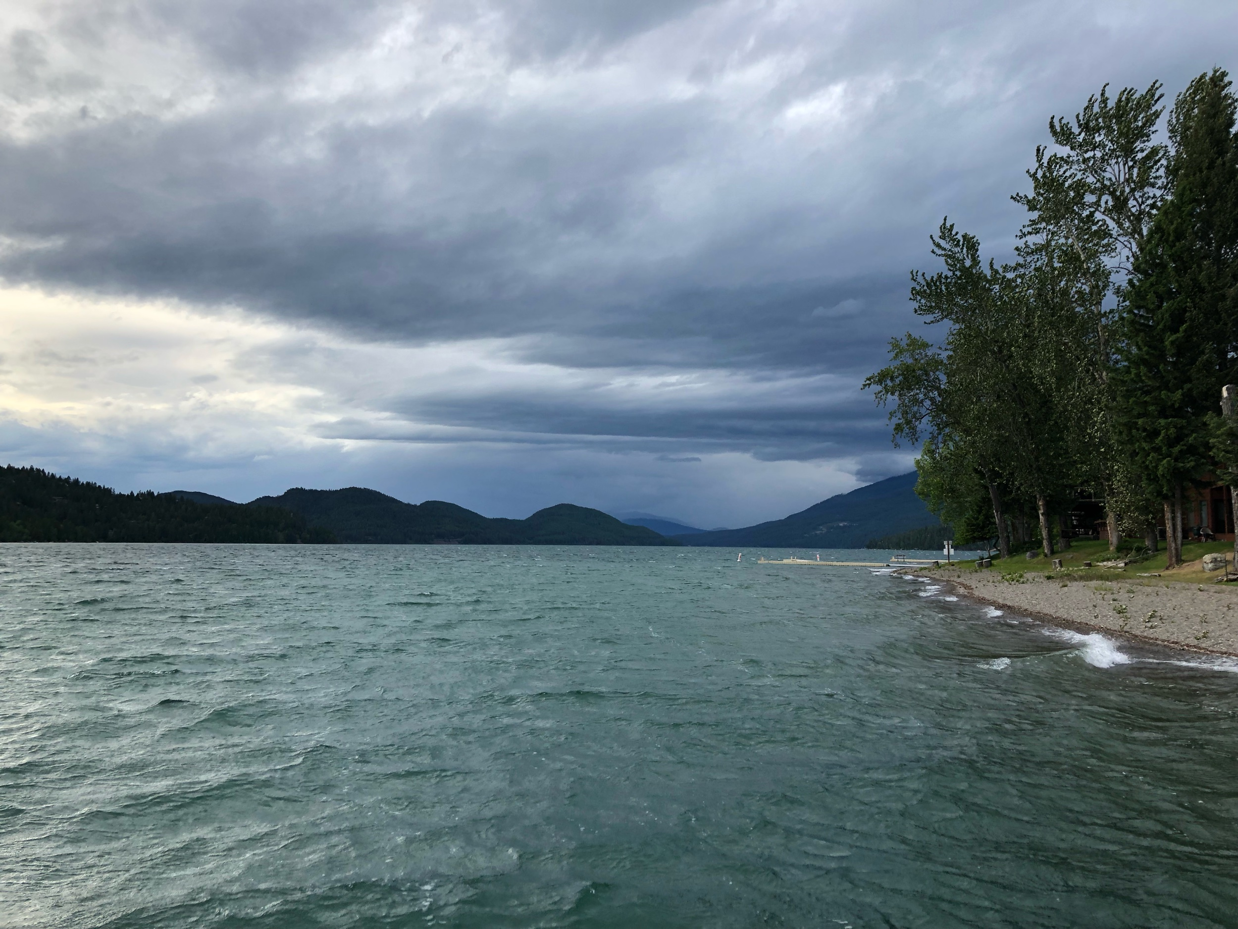 Big storm rolling into Whitefish