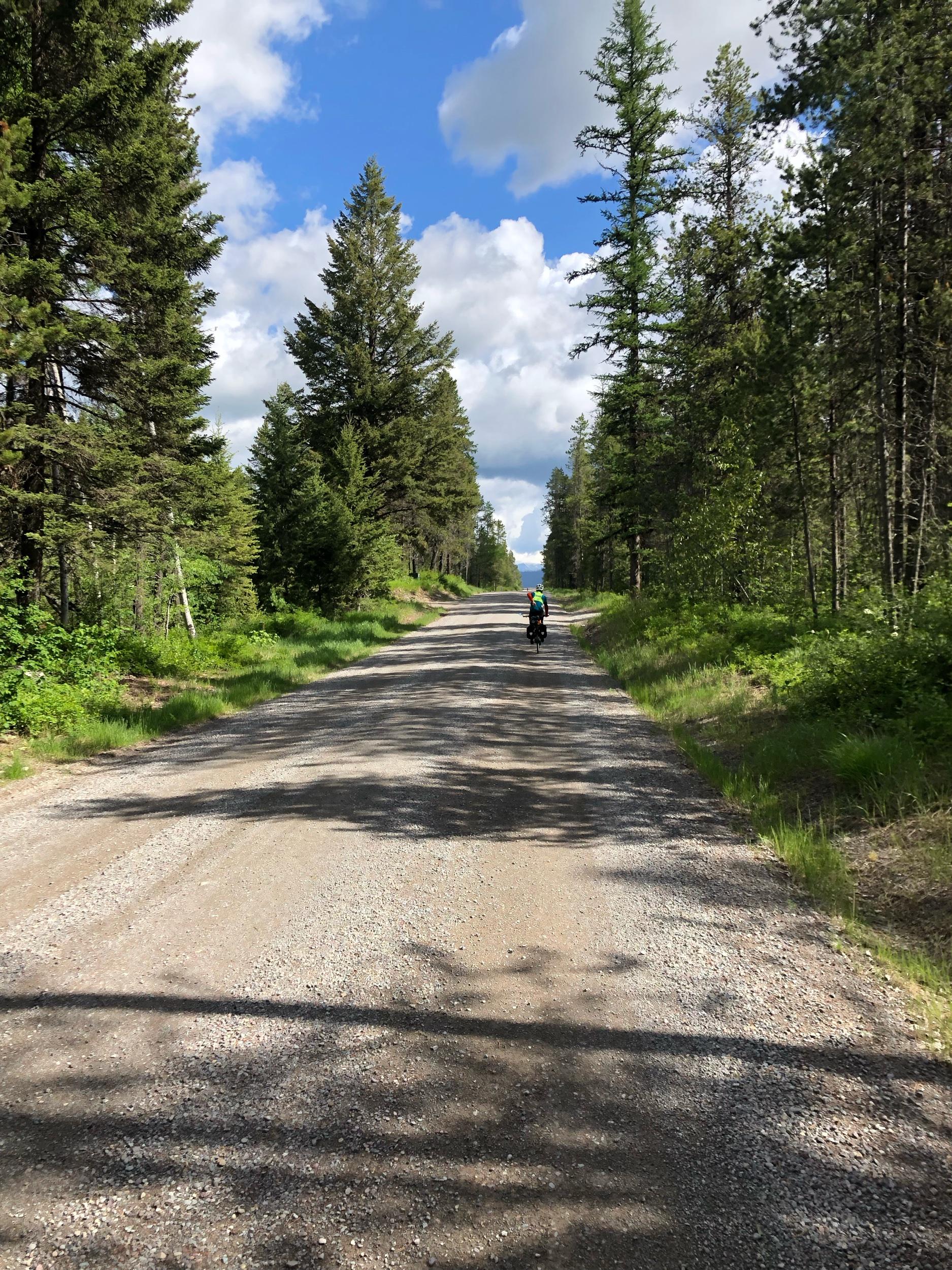 Headed towards the Rockies