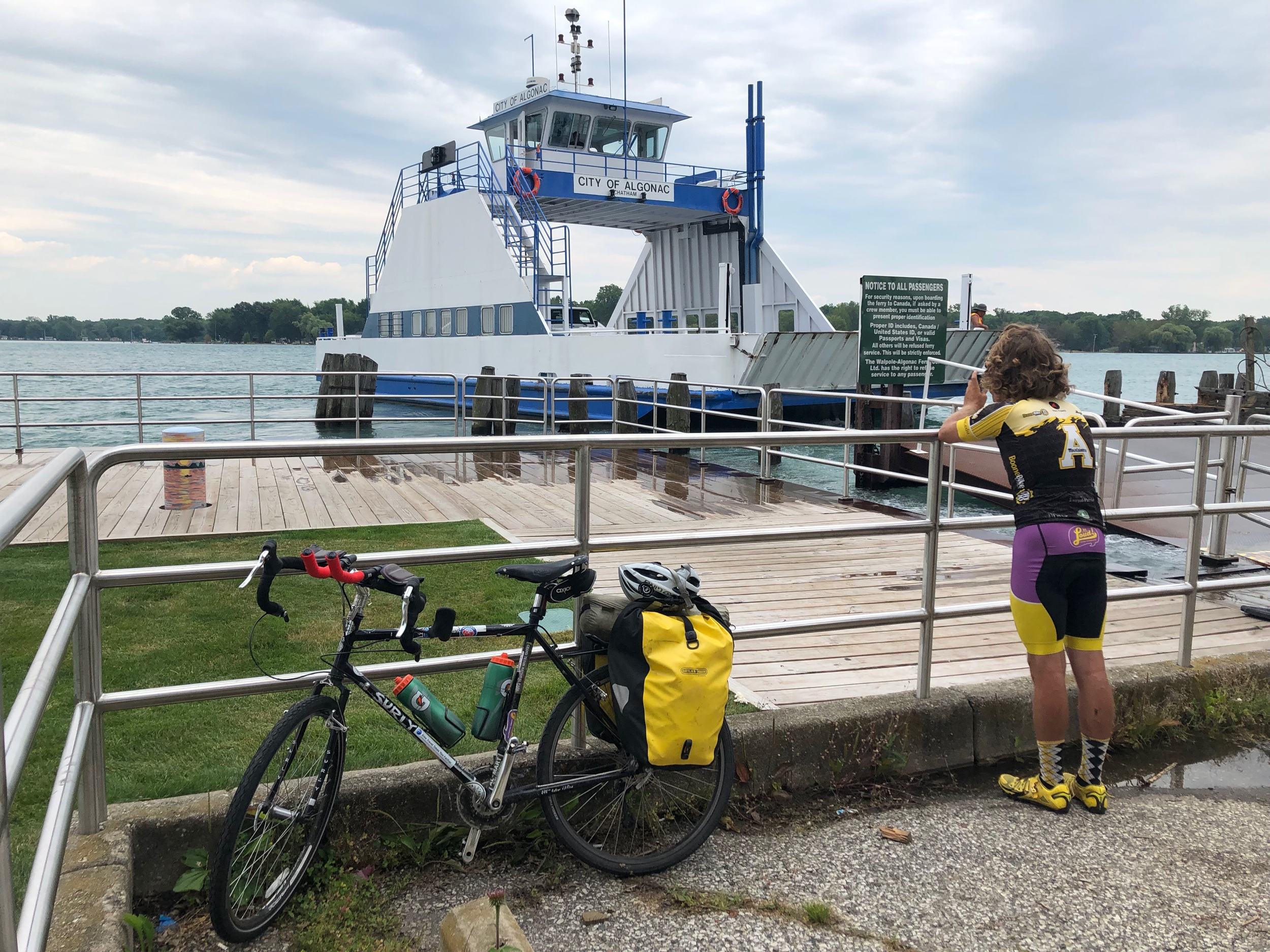 Ferry from Algonac, MI to Walpole, ON