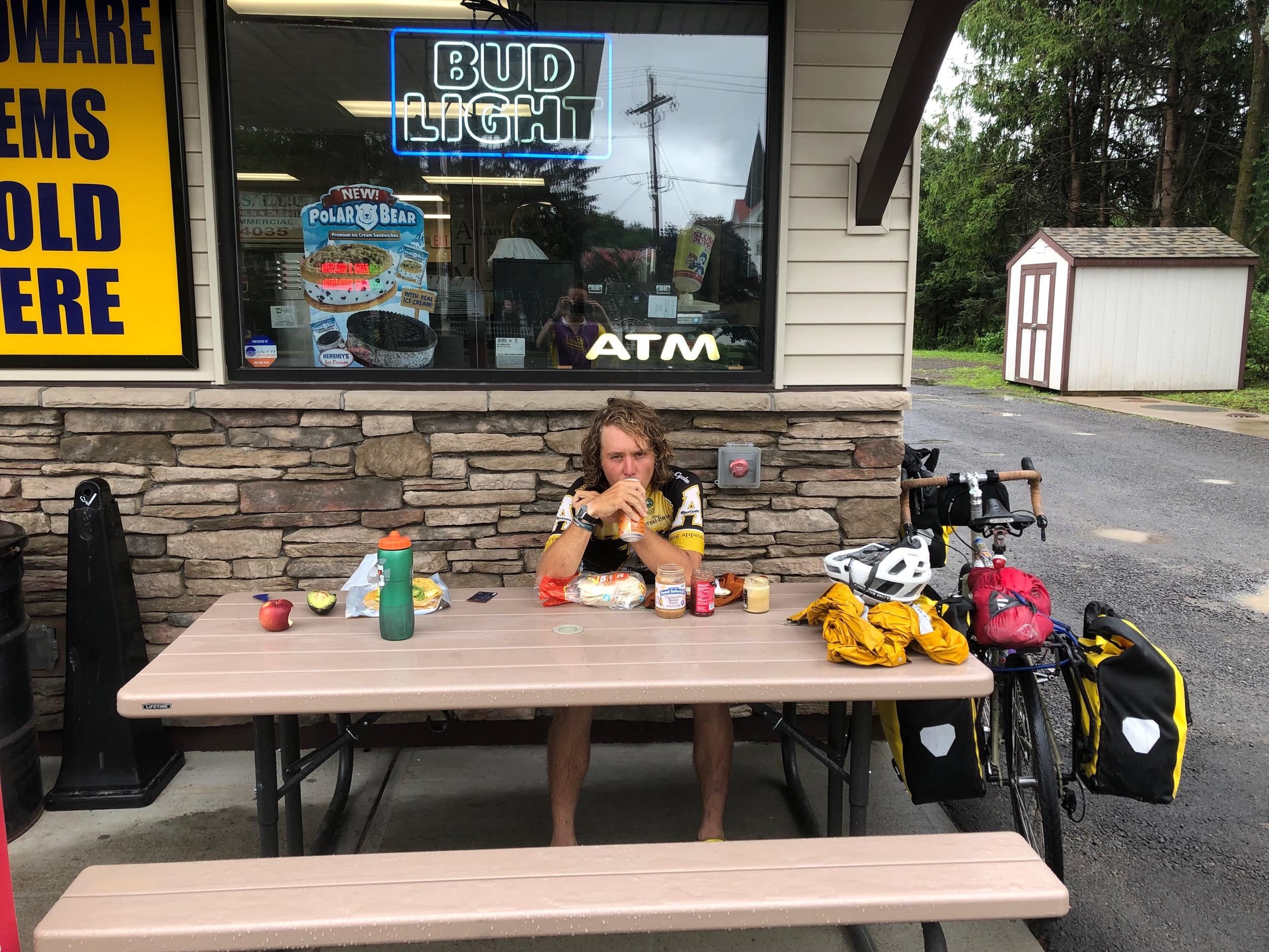 Lunch break in Redfield