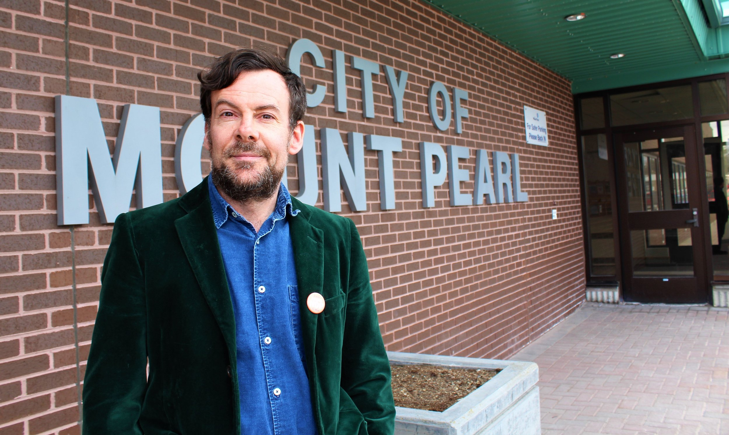 David Brake, the NDP candidate for Mount Pearl - Southlands district, hopes voters will pick something other than the 'tweedledee and tweedledum' parties this time around.