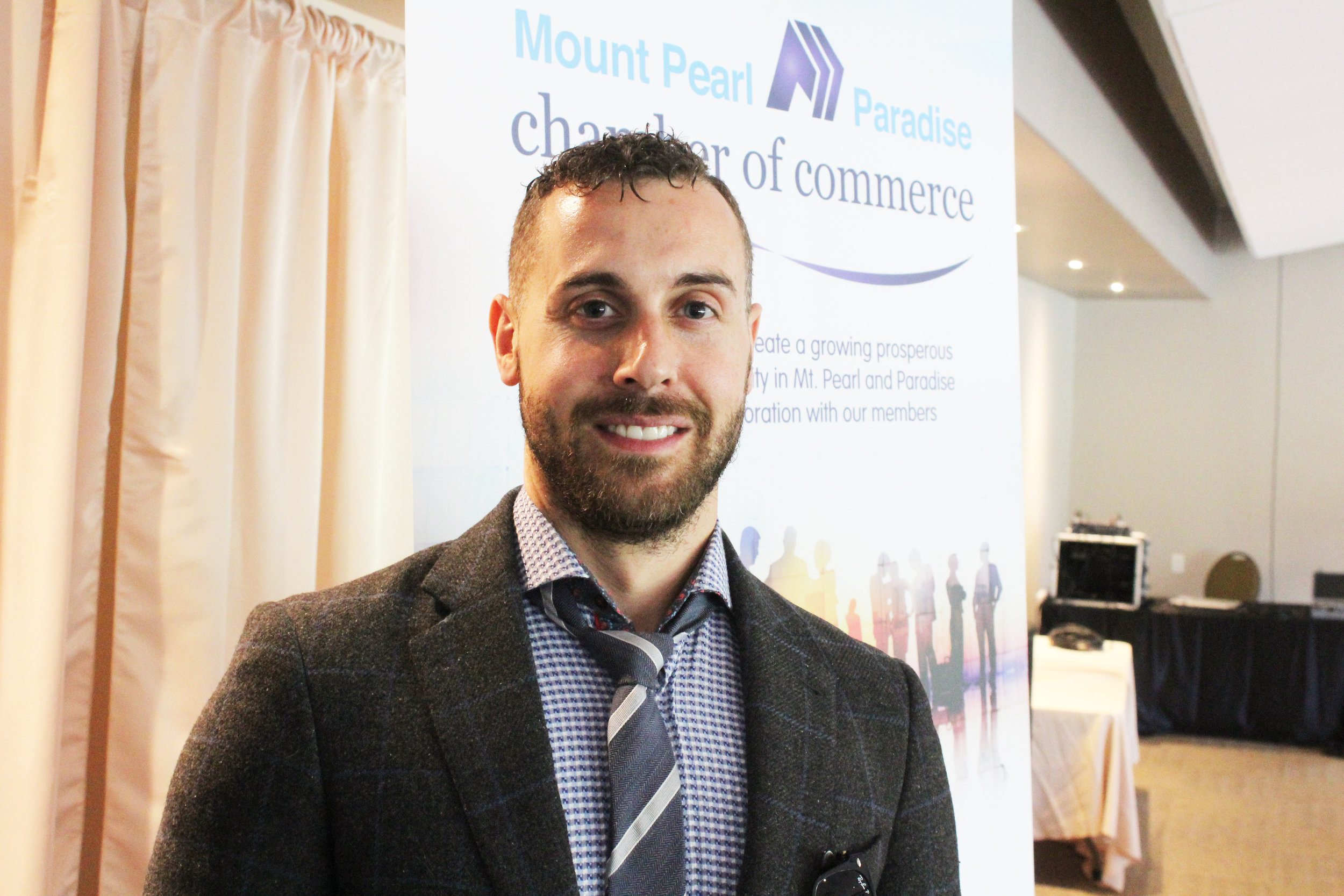 John Norman, Mayor of Bonavista, took some time to speak to the Mount Pearl/Paradise Chamber of Commerce about the economic development in his community, which has seen something of a revival in recent years after suffering economically following the cod moratorium of 1992.