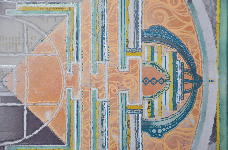 Mandala (detail), 2015
