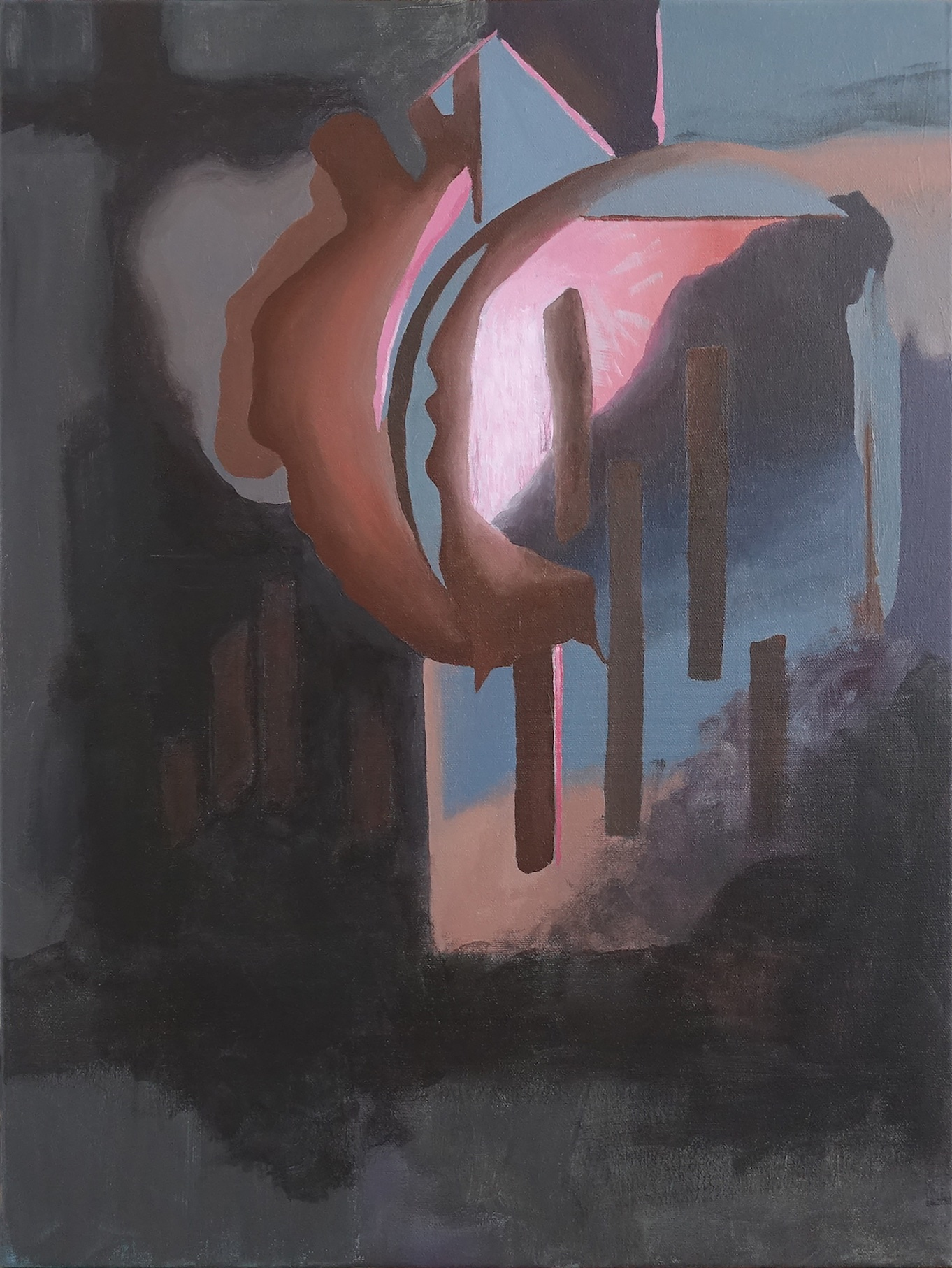 Untitled (Pink Corner), 2017