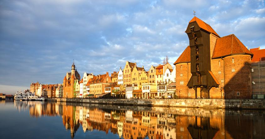 Gdansk Harbour crane