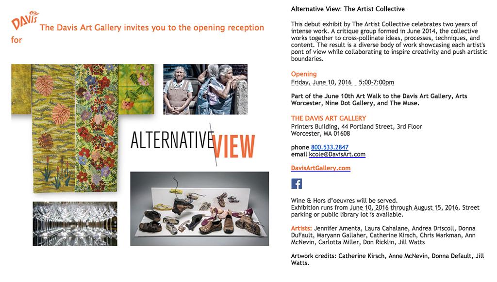 Alternative View Show