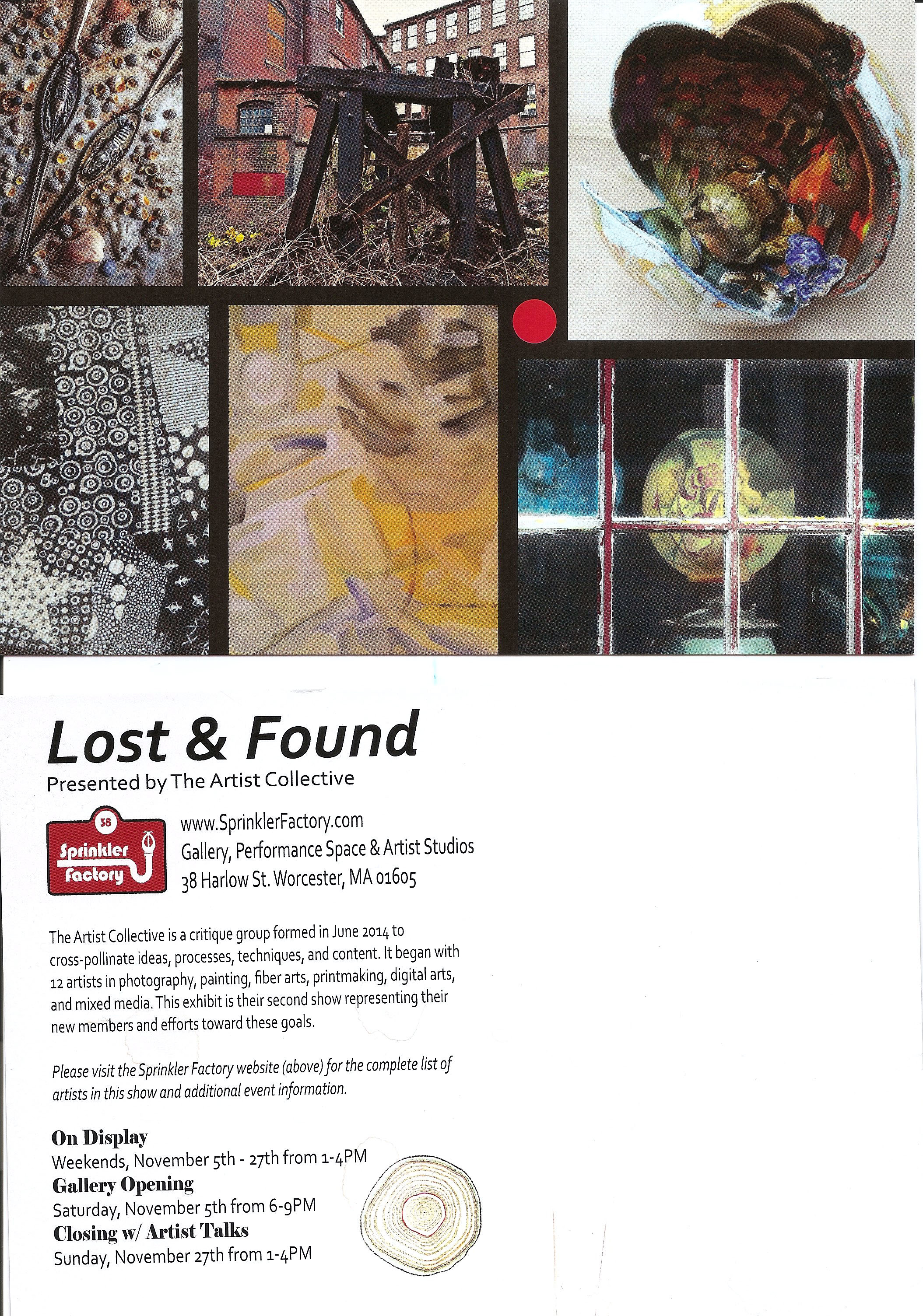 Lost and Found PostCard 2016