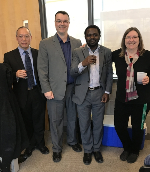 Congratulations Dr. Chris Odetola! Remember this day: April 10, 2017