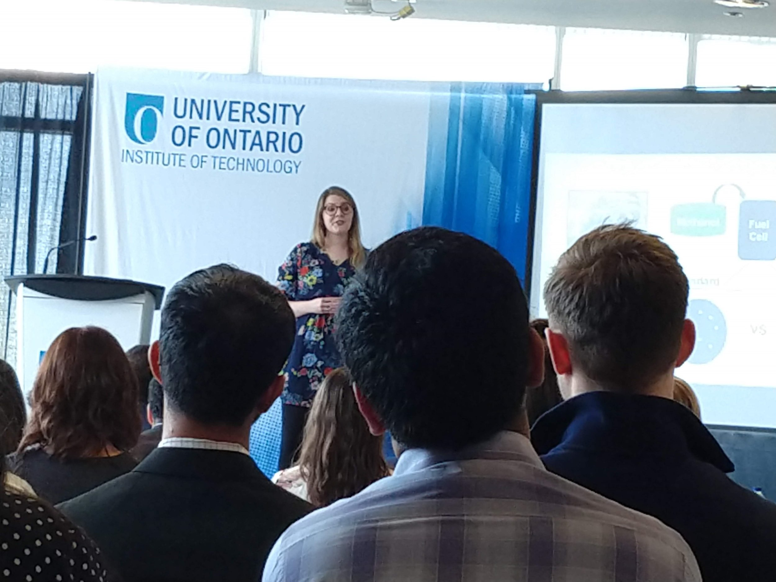 Great presentation Allison! Three Minutes Thesis Competition event, UOIT, March 19, 2019.