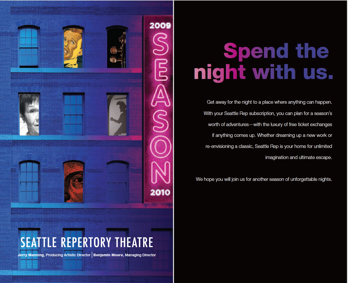 Seattle Repertory Theatre - Branding a Season Campaign