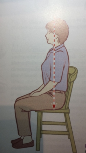 Sedersi in modo corretto