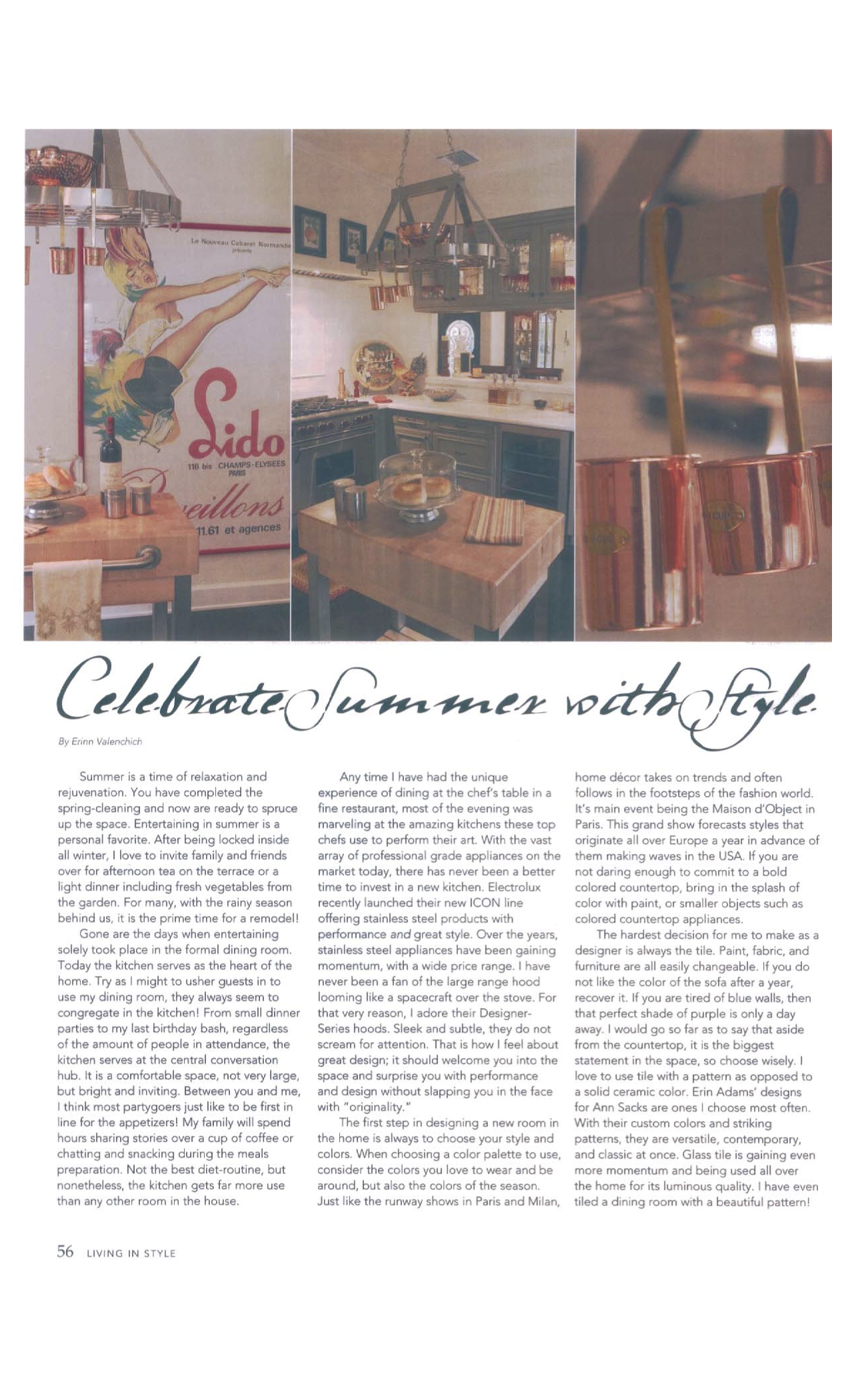 Living in Style Magazine