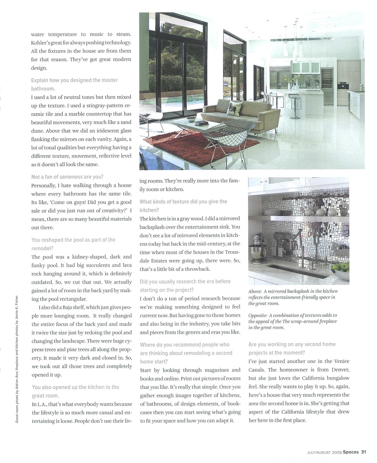 Spaces Magazine