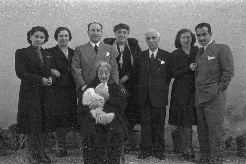 Majorana family, 1943