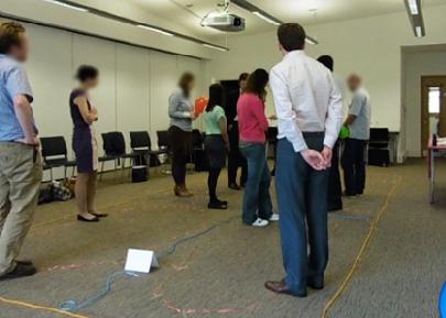 [[Workshop on ABM in GIS at OR56 (photo: Paul Edkins)///Workshop zu Agenten-basierter Simulation in GIS auf der OR56 Konferenz (Foto: Paul Edkins)]]