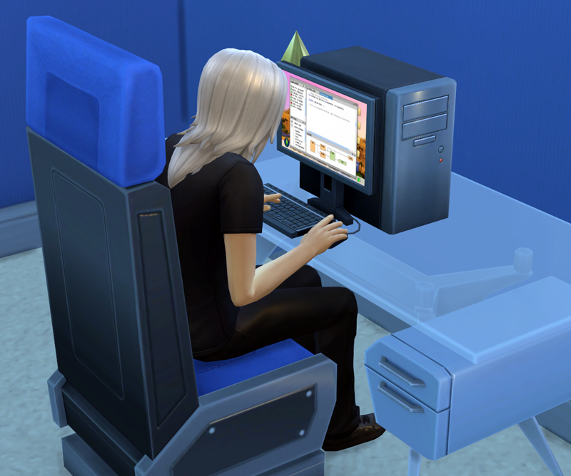 The Sims: a virtual simulation of everyday life :-)