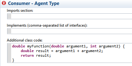Functions can be coded in pure Java, if you prefer.