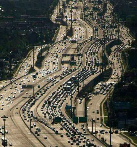 The widest highway in the world... made up of individuals.