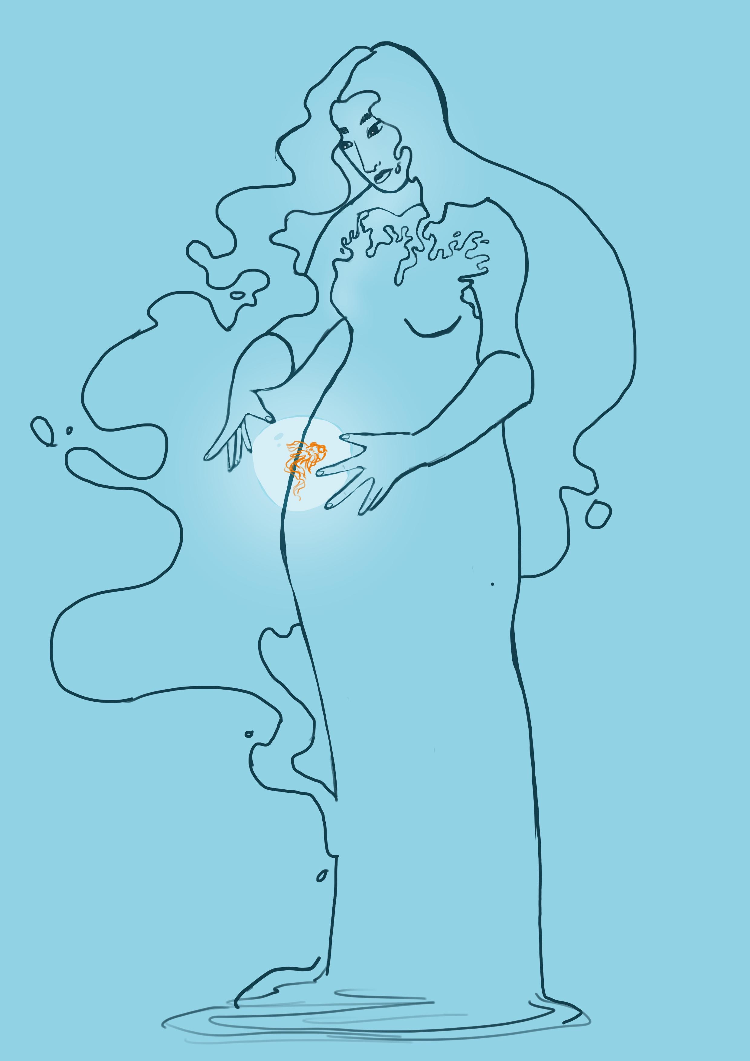 Hair Test/Mood Sketch