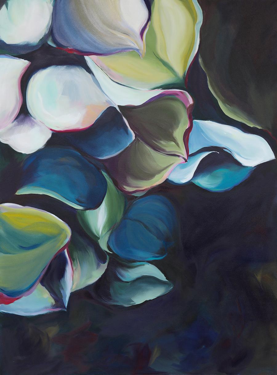 meet me in the shadows - 48 x 36 Oil