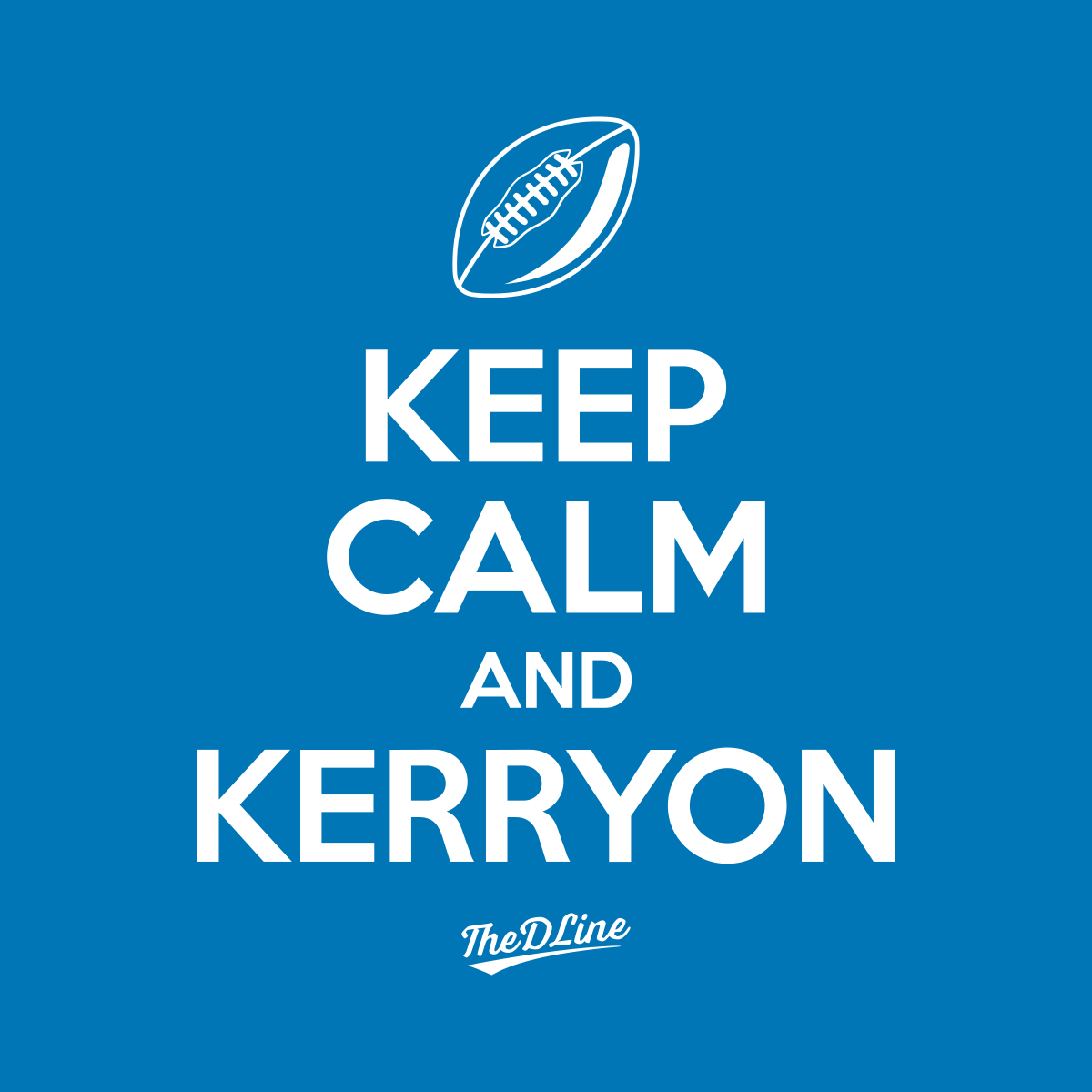 Keep Calm and Kerryon