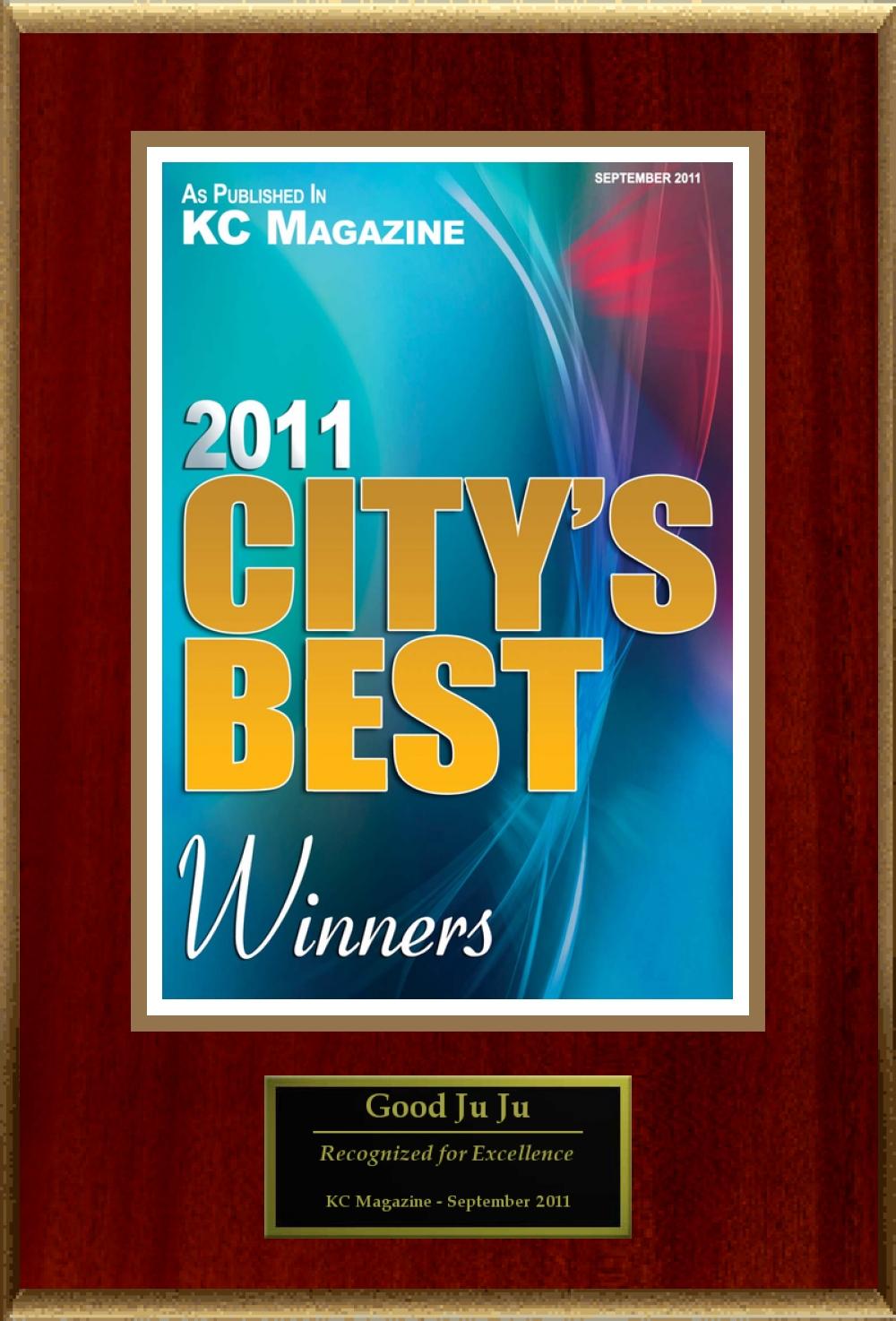 KC Magazine City's Best Award 2011