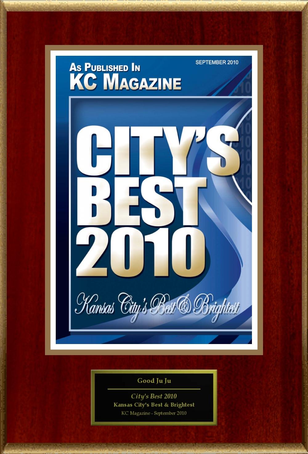 KC Magazine City's Best Award 2010